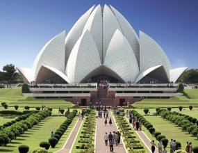 New Delhi: Lotus Temple