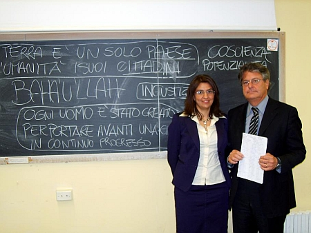 Beppe and Sandra Luschi