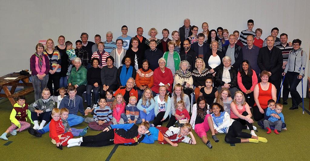 Foto di gruppo della Scuola Estiva islandese, con la speranza che Beppe potrà presenziare anche in futuro. Edvard